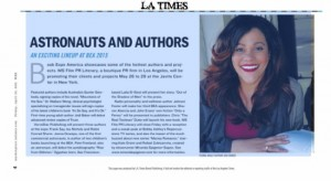 Astronauts and Authors LA Times